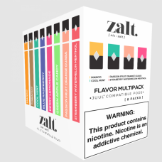 ZALT PODS [8 -(4 pack)] (JUUL COMPATIBLE)