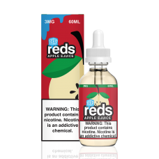 7 DAZE - REDS ICED - APPLE E-JUICE - 60mL (ICED)