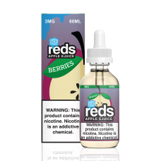 7 DAZE - REDS ICED - BERRIES APPLE E-JUICE - 60mL (ICED)