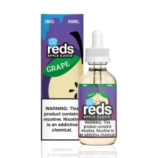 7 DAZE - REDS ICED - GRAPE APPLE E-JUICE - 60mL (ICED)