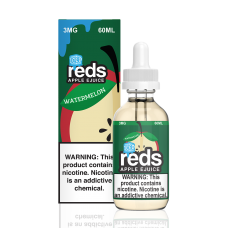 7 DAZE - REDS ICED - WATERMELON APPLE E-JUICE - 60mL (ICED)