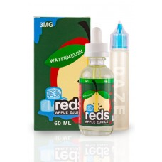 7 DAZE - REDS ICED WATERMELON APPLE E-JUICE - 60mL (ICED)