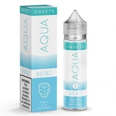 AQUA - SWEETS - BLUE RAZZ - 60mL BY MARINA VAPE