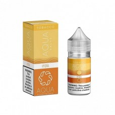 AQUA SALTS TOBACCO - HYDRA - 30mL BY MARINA VAPE (Gold)