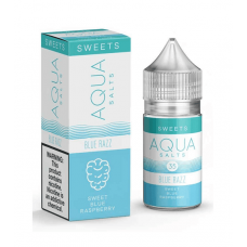 AQUA SALTS - BLUE RAZZ - 30mL BY MARINA VAPE 35/50MG