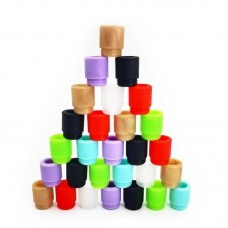 DRIP TIP SILICONE TFV8/12 DISPOSABLE DRIP TIP 810 (INDIVIDUALLY PACKAGED) 100CT