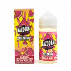 BAZOOKA VAPE - WATERMELON SOUR STRAWS - 100ML