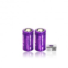Efest IMR 18350 700mAh Purple 3.7V Bat Flat