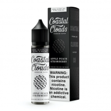 COASTAL CLOUDS - APPLE PEACH STRAWBERRY 60ml