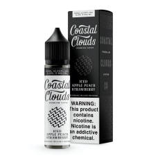 COASTAL CLOUDS ICED - APPLE PEACH STRAWBERRY 60ml (ICED)