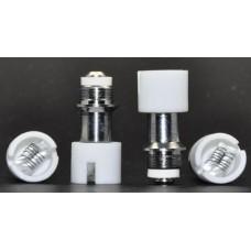 Globe Tank Coils Solid 5pk dual Ceramic Bar Titanium