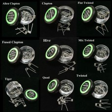 10CT PREBUILT COILS - GREEN LABEL