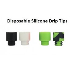 Drip Tips - Silicone 10ct - 510 Threaded