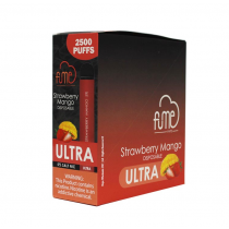 FUME ULTRA DISPOSABLE VAPE 2500 PUFF (10CT)