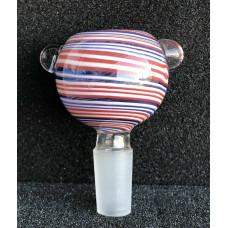 GLASS BOWL - ROUND BOWL WIG WAG