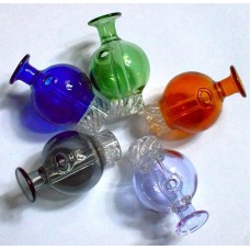 GLASS CAPS - BUBBLE CYCLON (assorted colors)