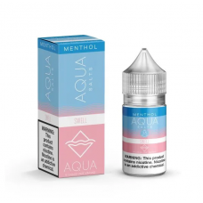 AQUA SALTS MENTHOL - SWELL - 30ML BY MARINA VAPE 35/50MG (ICE)