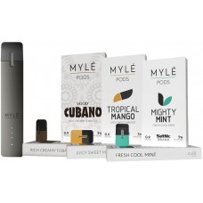 MYLE SALT NIC PODS 4PK - FOR MYLE STARTER KIT