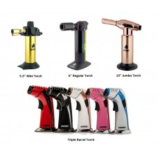 NEWPORT TORCHES VARIOUS SIZES (ASSORTED COLORS)