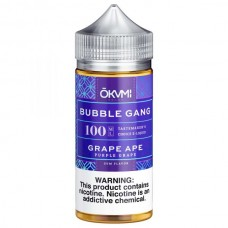 BUBBLE GANG - GRAPE APE - 100mL BY OKAMI