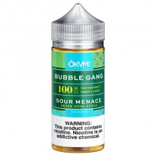 BUBBLE GANG - SOUR MENACE - 100mL BY OKAMI