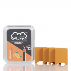 PUFF KRUSH ADD-ON PRE-FILLED PODS [24 pack (6 packs of 4 / 4 flavors)]