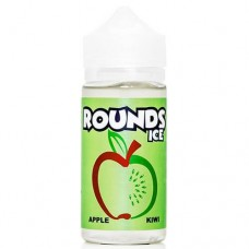 ROUNDS - APPLE KIWI ICED 100mL