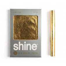 SHINE 24K GOLD ROLLING PAPERS (2-Sheet Pack)