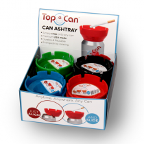 TOP CAN - CAN ASHTRAY 12ct.