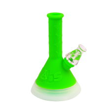 TWISTED LABS - 8in LED SILICONE WATERPIPE (ASSORTED COLORS)