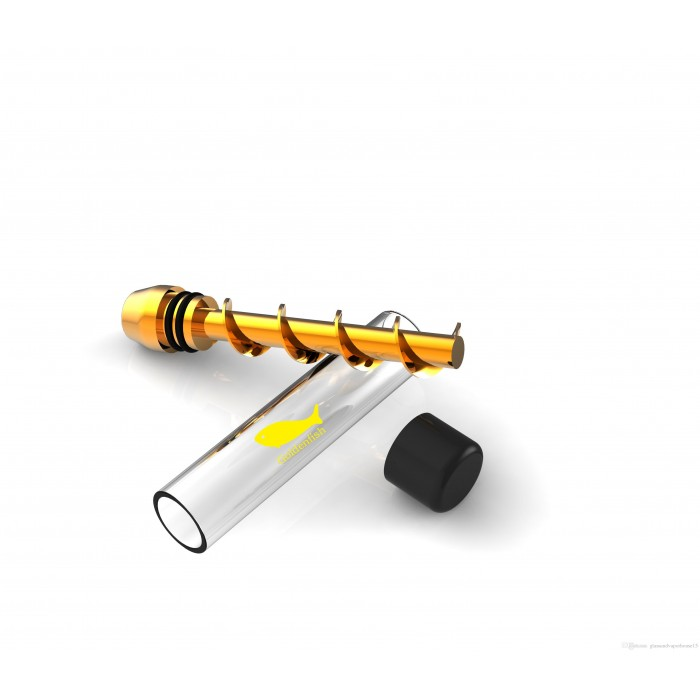 accessories goldenfish twisty pipe