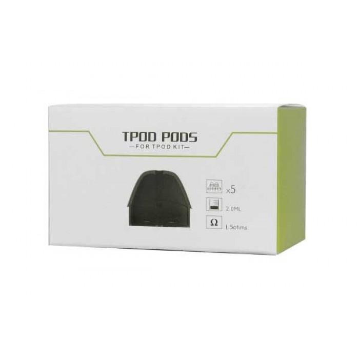 Teslacigs Tpod Replacement Pods (5 Pcs) | Devine Distribution
