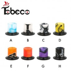 Tobeco Super Mini Tank Acrylic Wide Bore Drip Tip - 5pk