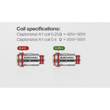 UWELL COILS - NUNCHAKU REPLACEMENT COILS (4-PACK)