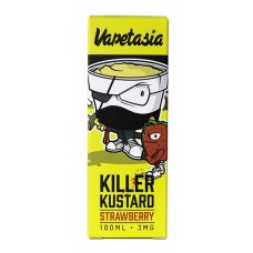VAPETASIA - STRAWBERRY KILLER KUSTARD 100ML
