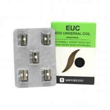 VAPORESSO COILS - EUC REPLACEMENT COIL 5-PACK