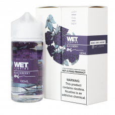 WET LIQUIDS - BLACKBERRY - 100mL