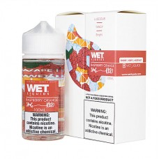WET LIQUIDS ICED - RASPBERRY ORANGE (ICED) - 100mL