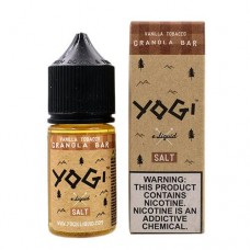 YOGI SALTS - VANILLA TOBACCO G.RANOLA BAR 30mL