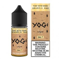 YOGI SALTS - PEANUT BUTTER BANANA GRANOLA BAR 30mL
