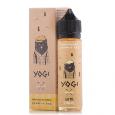 YOGI - PEANUT BUTTER BANANA GRANOLA BAR 60mL
