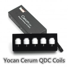 YOCAN CERUM QDC REPLACEMENT COIL - QUARTZ DUAL COIL
