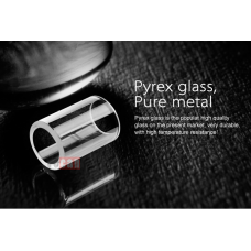 Yocan Exgo II replacement glass 3pk