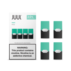JUUL 3% REPLACEMENT PODS 4-PACK